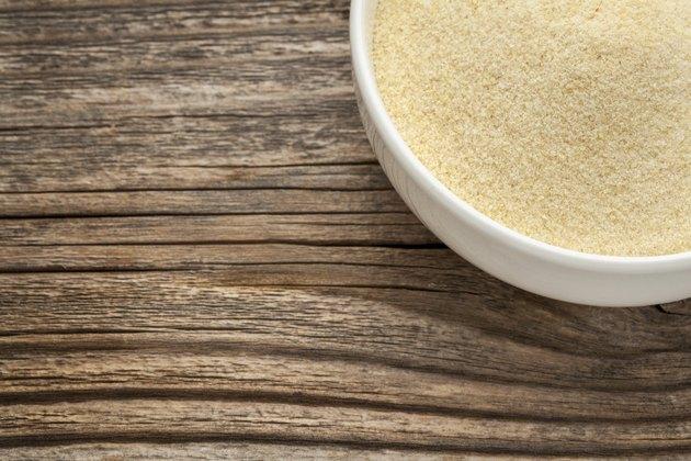 semolina wheat flour