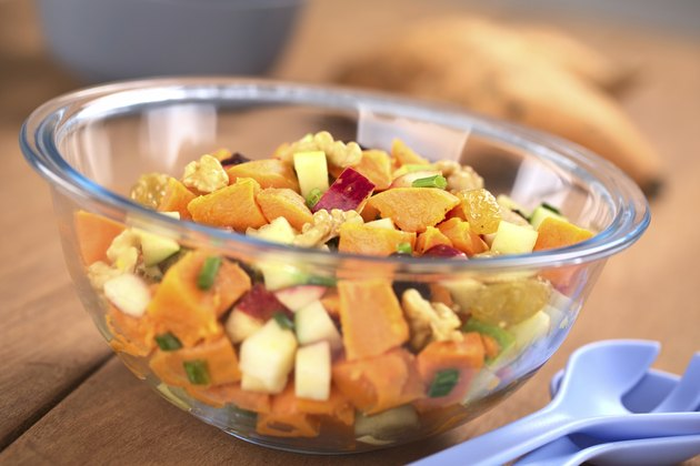 Sweet Potato and Apple Salad