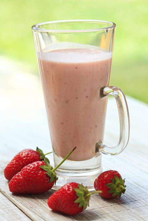 fresh Strawberry smoothie
