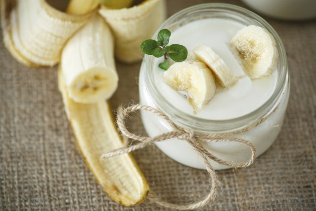 banana yogurt