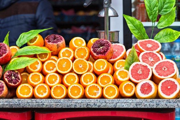 Fresh juice stand