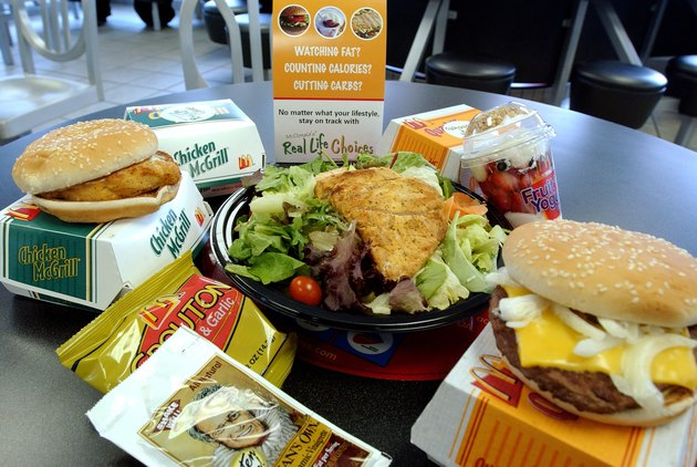 McDonalds Offers Real Life Choices Diet In New York City