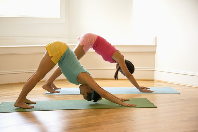 Women doing fitness