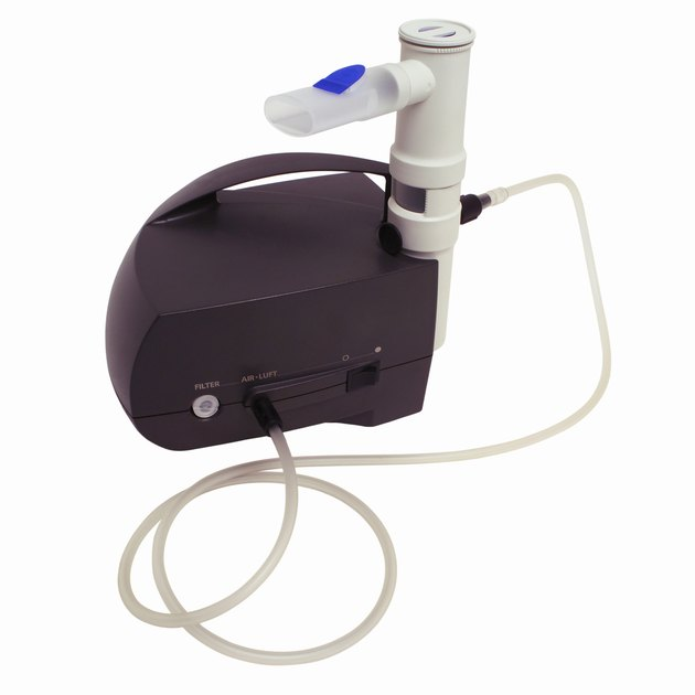 Close up of a nebulizer