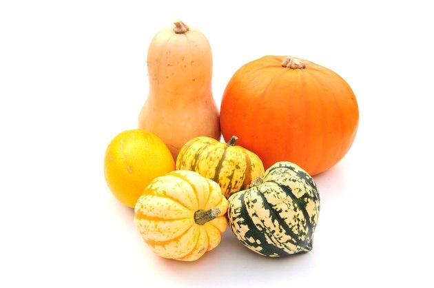 various squashes