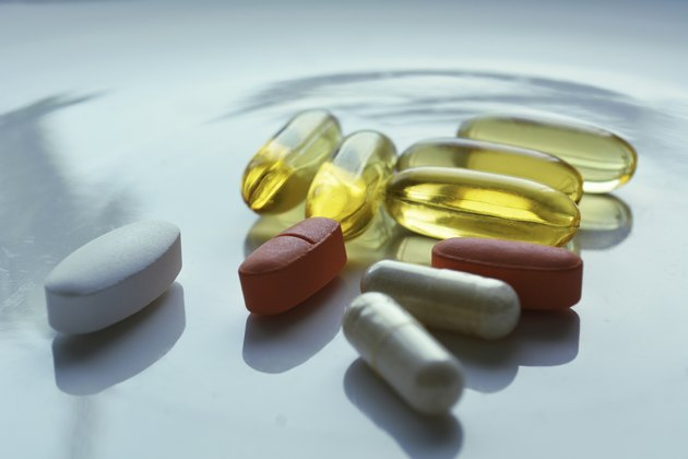 Vitamins and fish oil supplements