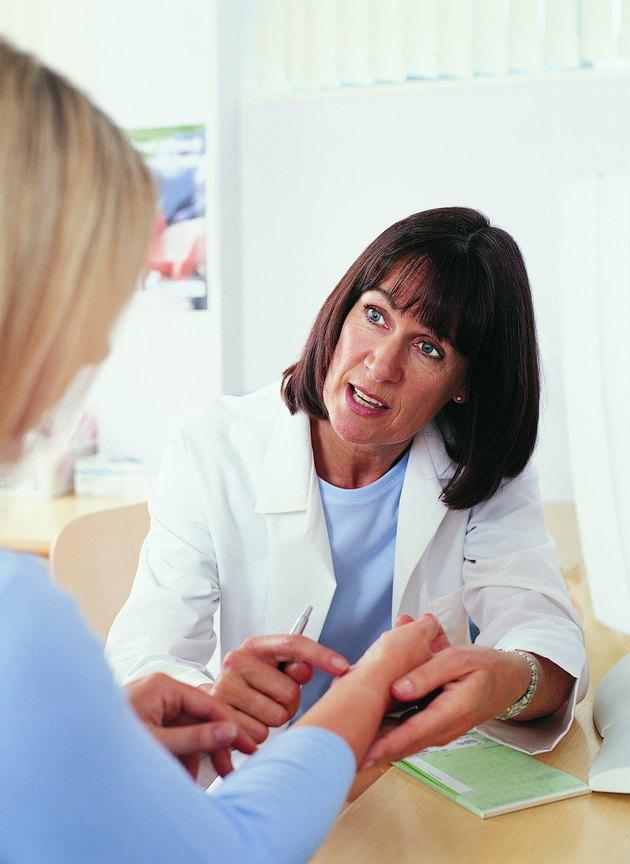 Doctor Explaining Her Prescription to Her Patient