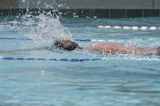 Laps at the pool 3
