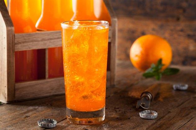 Refreshing Orange Cream Soda