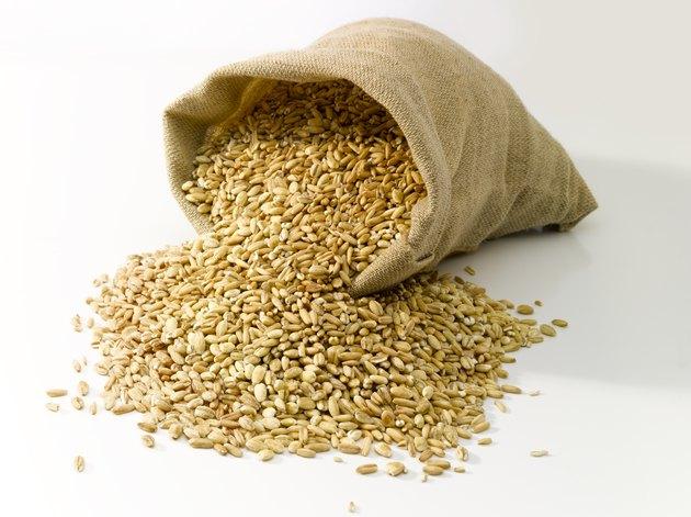 Bag of wheat