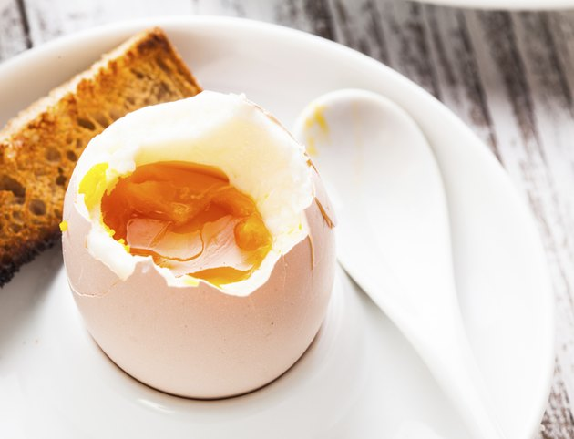 The soft-boiled egg