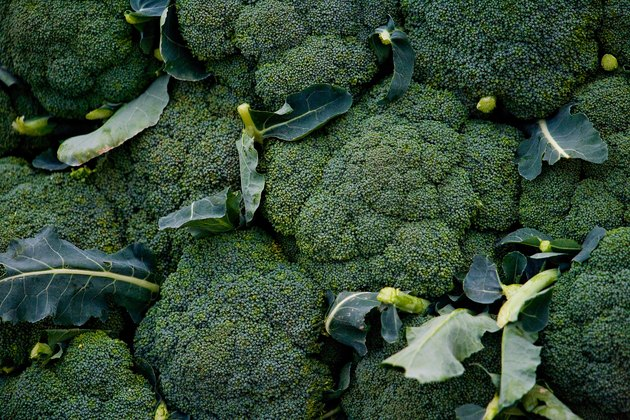 Bushels of broccoli