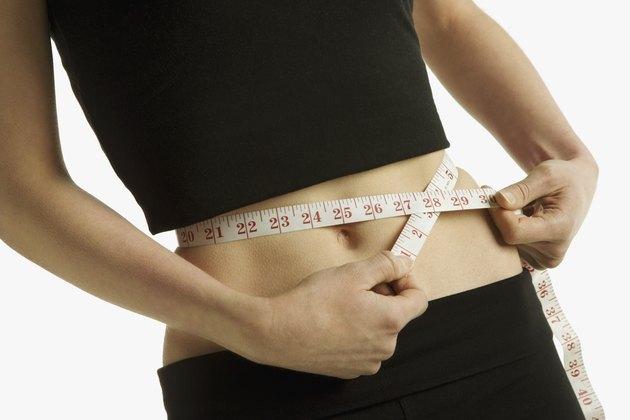 Measuring a waist-line
