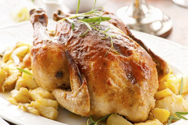 Roasted Chicken with Potato
