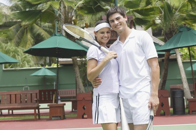 Tennis couple