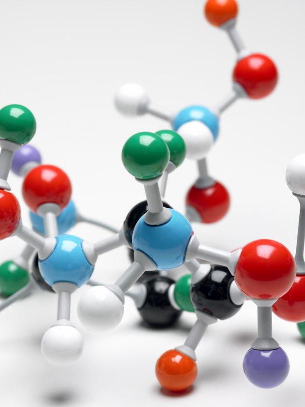 Model of molecule