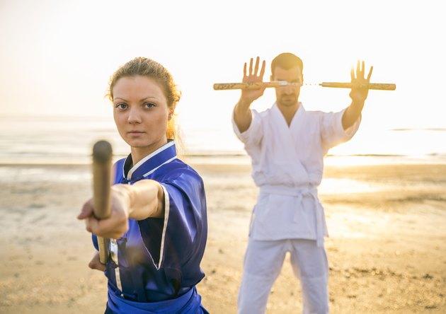 Martial arts athletes