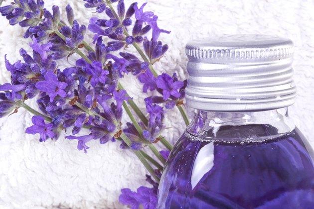 Lavender bathing oil