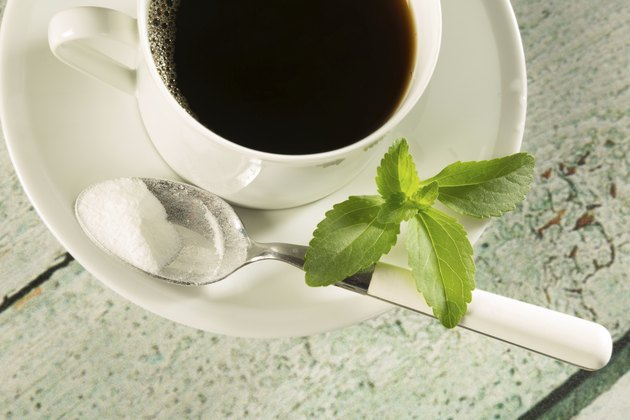 Coffee with stevia