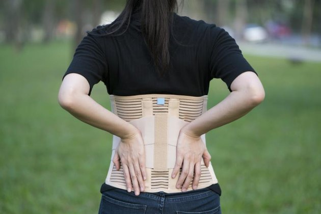 Back support for muscle back