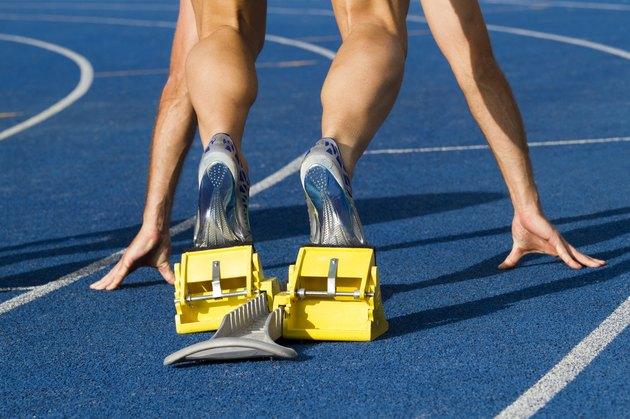Starting sprinter