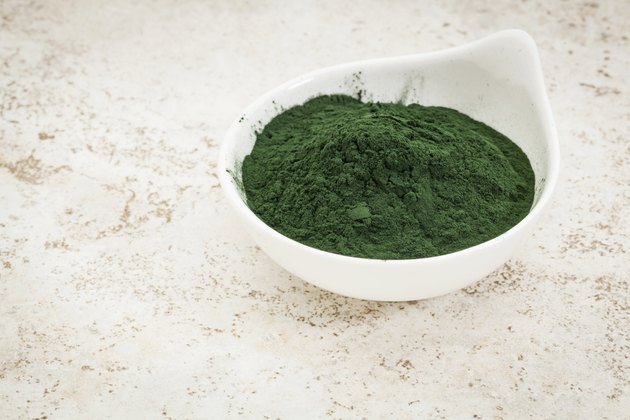 Hawaiian spirulina powder