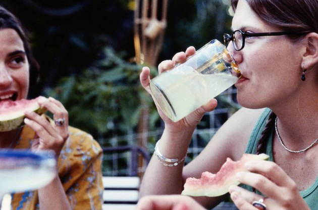 Lemonade and Watermelon