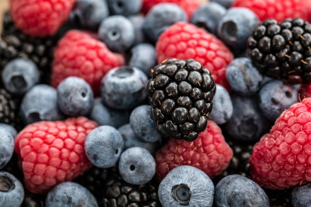 Fresh summer berries.healthy food