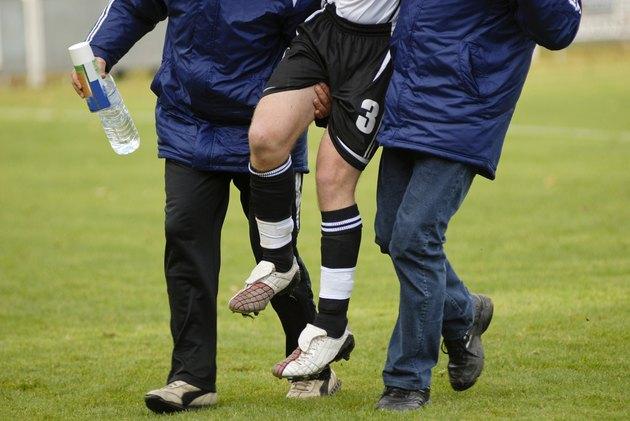 soccer injured