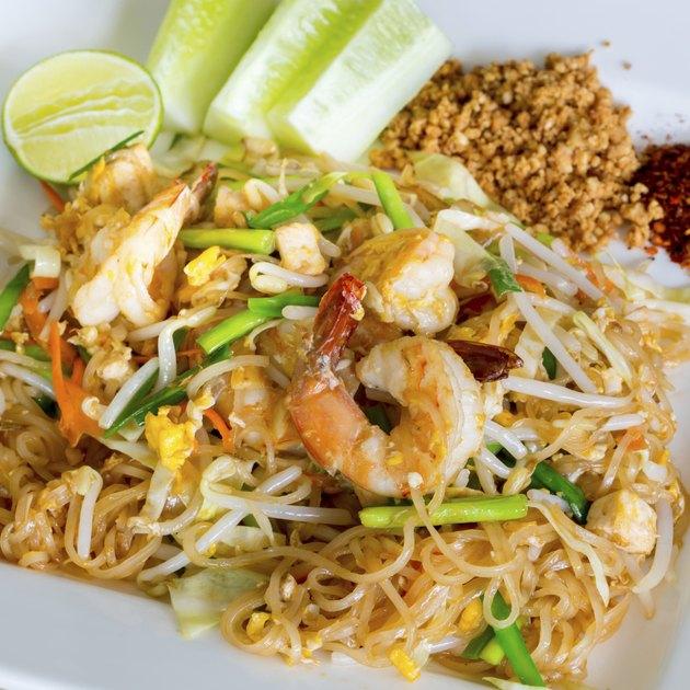 Thai style noodles