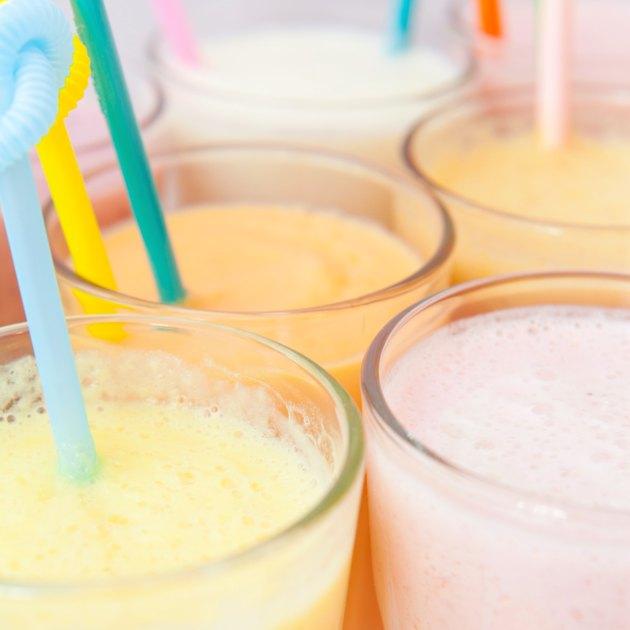 fruit milkshake smoothie collection