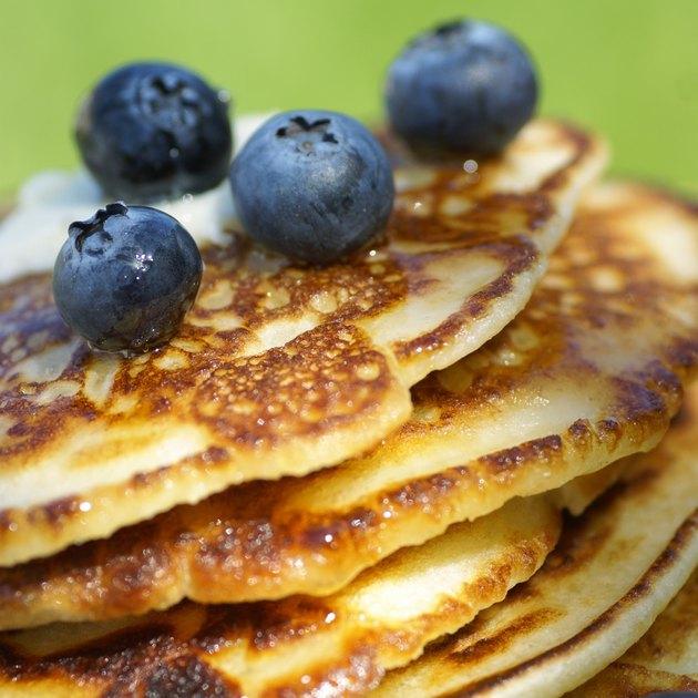 Pancakes detail