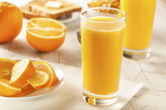 Refreshing Organic Orange Juice