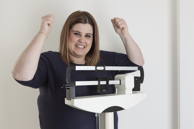 Celebrating weight loss