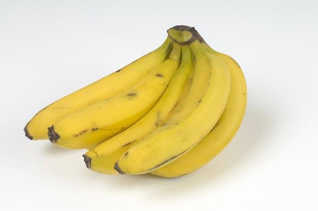 Bunch of bananas, studio shot
