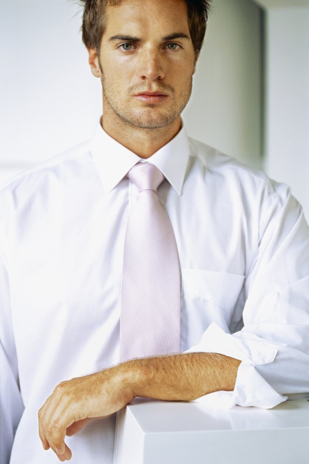 portrait of a businessman standing