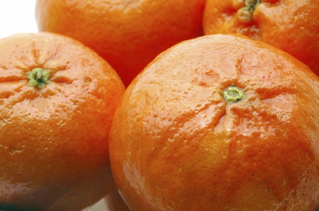 tangerines macro
