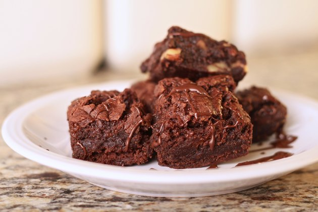 Home-made Chocolate Brownies