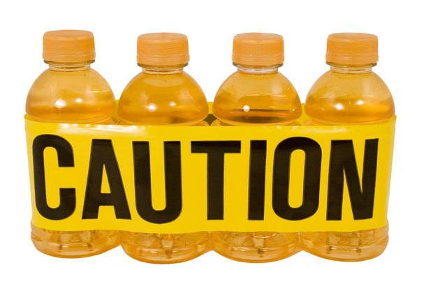 Sports Drink...Caution