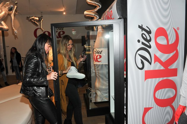Launch Event Of The Diet Coke Get A Taste Style Bar Featuring The Exclusive Diet Coke Curated Fashion Collection In Partnership With Online Luxury Retailer Gilt.com