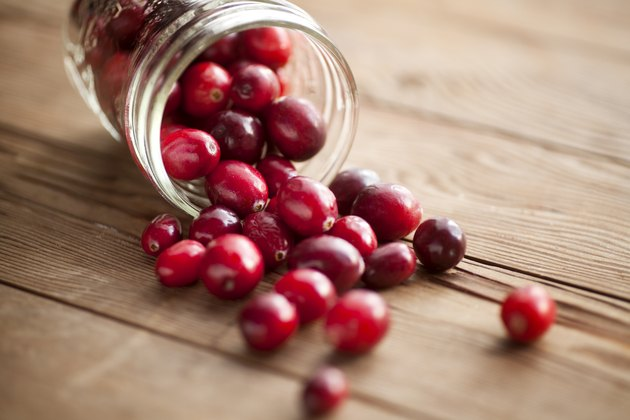Red cranberries