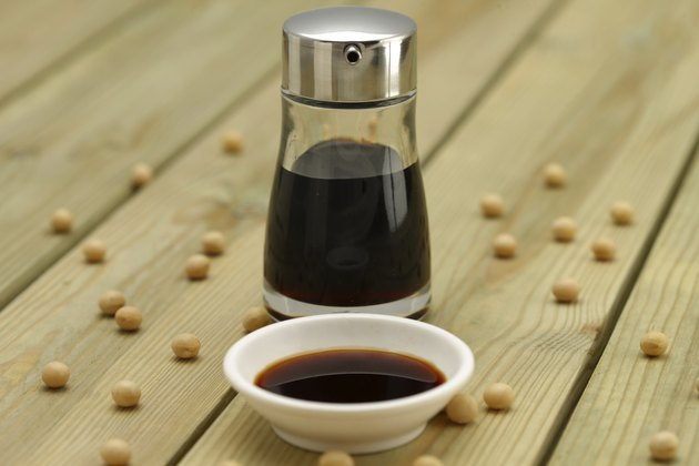 Japanese traditional seasoning soy sauce