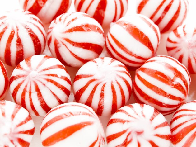 Peppermint candies