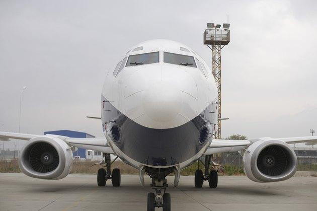 Airplane on runway