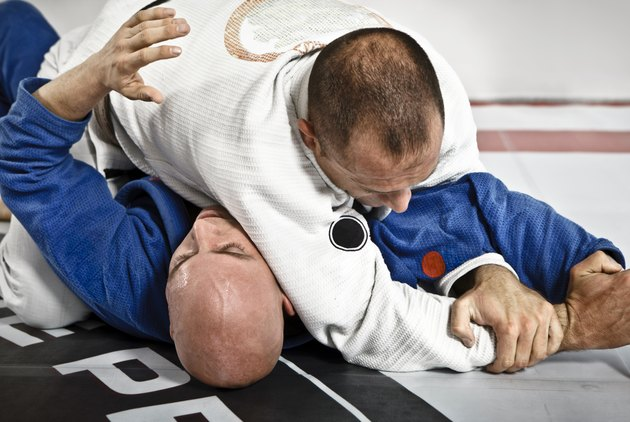 Jiu-Jitsu Submission Hold