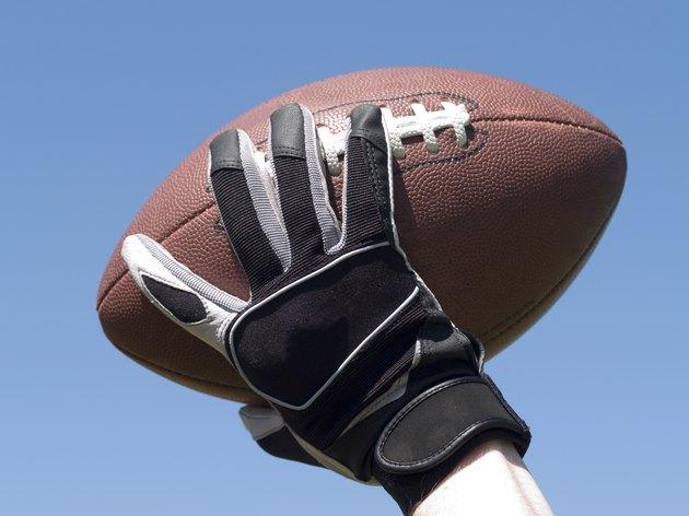 Throw a football