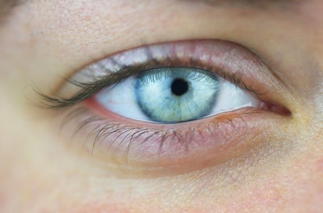 Woman's Blue Eye
