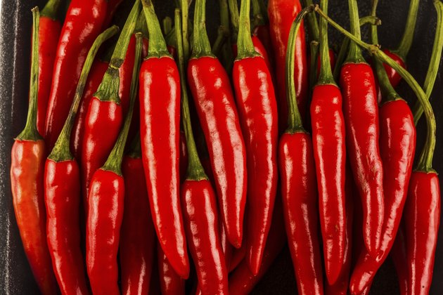 Pile of chilli