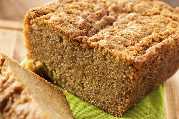Homemade Healthy Zucchini Bread