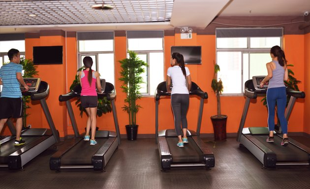 People on the treadmill